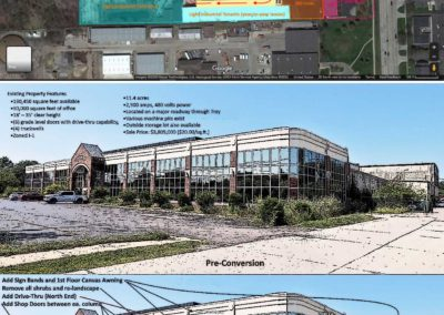 Concept Plan_Before _ After_4755 Rochester Rd_Troy MI_InkSketch_0312.2020b